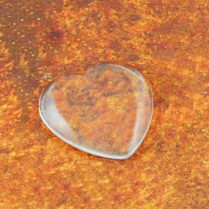 1 Inch PRO Glass Dome HEARTS