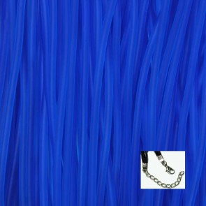 Royal Blue Rubber Necklaces