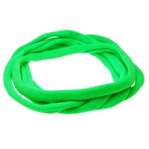 Neon Green Medium Nylon Choker Necklace