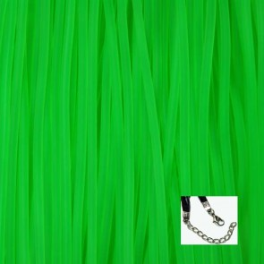 Green Rubber Necklaces
