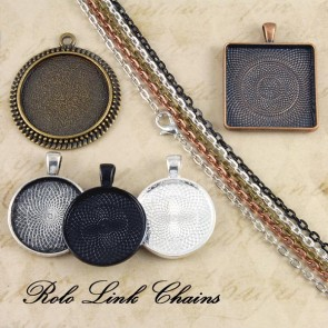Pick & Mix Rolo Oval Link Chains