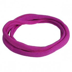 Plum Medium Nylon Choker Necklace