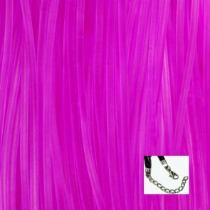 Light Purple Rubber Necklaces