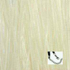 White Rubber Necklaces