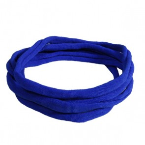 Royal Blue Medium Nylon Choker Necklace
