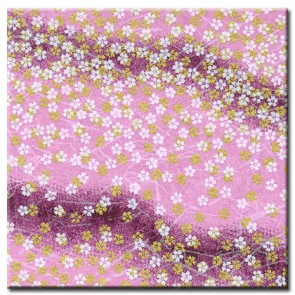 Chiyogami Paper - Selection 488 - FOUR 4 Inch x 6 Inch Sheets
