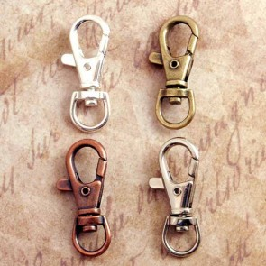 Swivel Clips for Key Chains Bag Tags & Purse Charms