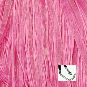 Light PinkOrganza Ribbon Necklaces