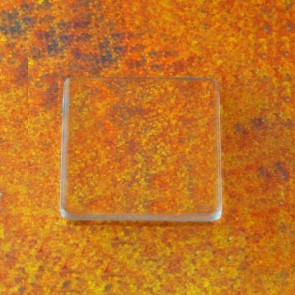 23mm 7/8 Inch PRO Glass FLAT Squares