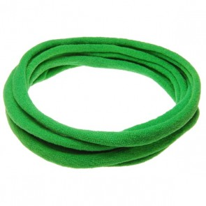 Green Large Nylon Choker Necklace
