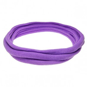 Purple Medium Nylon Choker Necklace